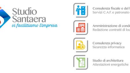 Nuovo logo, nuovo sito per lo Studio Santaera. Ma la stessa professionalità di sempre
